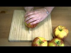 Video: Äpfel perfekt schneiden #trick #howto #awesome #easy #perfect #quick