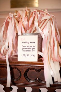 wedding wands