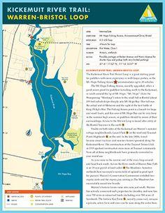 Explore Bristol, Rhode Island | Kickemuit River Trail Map & Guide