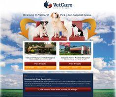 Vet Care Animal Hospitals #HealthyPet #veterinary #webdesign