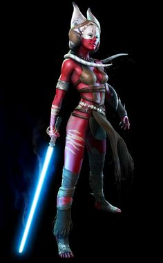Jedi Master Shaak-Ti | Star Wars, the Force Unleashed