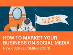 Struggling to keep up with social media? You need my new online course! The smart guide on how to market your business on social media.