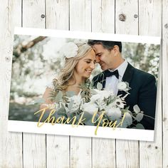 Wedding Thank You Cards Printable Thank You Card Template