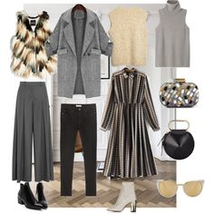 A fashion look from January 2016 by bealosse featuring The Row, GUESS by Marciano, J.Crew, Zara, Topshop, Sarah's Bag, 3.1 Phillip Lim, Linda Farrow Luxe, women...