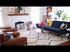 How to choose the perfect rug size  ||  Emily Henderson  {Great tips!  Although I know that many of us know the right rug size to buy, but just don't want to bite off another 3 hundred dollar bills for the extra inches.  Rugs are pricey!}