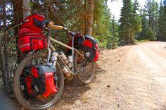 Loaded Salsa Fargo. #biketouring #biketravel