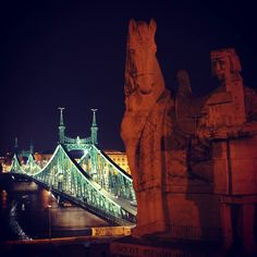 Ponte da Liberdade em Budapeste  #Hungria  #viagem