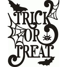 Silhouette Design Store - View Design trick or treat cricut halloween ideas Halloween Vinyl, Halloween Signs, Halloween Cards, Fall Halloween, Halloween Decorations, Halloween Stencils, Halloween Shirt, Halloween Ideas, Halloween Chalkboard Art