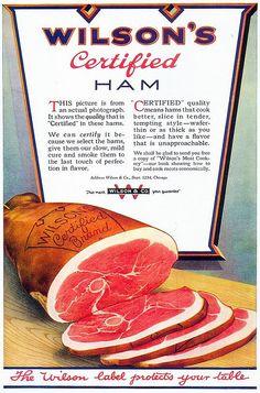 Wilson's Ham, 1919