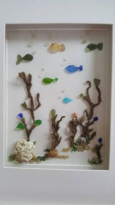 Best 93 Faux Stained Glass images - Famous Last Words Sea Glass Beach, Sea Glass Art, Glass Wall Art, Sea Glass Jewelry, Window Glass, Sea Crafts, Sea Glass Crafts, Seashell Crafts, Deco Marine