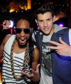 Paris Hilton, Lil Jon spotted at Nick Hissom performance at Tryst Nightclub