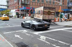 Lamborghini Aventador Spotted In New York, New York On 11/09/2013,