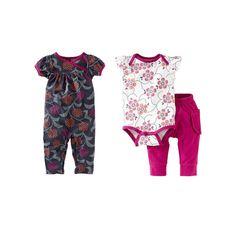 Hydrangea 3-Piece Baby Set. Inspiración de modelos.