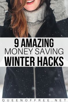 The cost of removing ice and snow adds up! These smart money saving winter hacks will keep your budget & drive way in the clear. Save Money On Groceries, Ways To Save Money, Money Tips, Money Saving Tips, Budgeting Tools, Winter Hacks, Money Saving Challenge, Family Budget, Buying A New Home