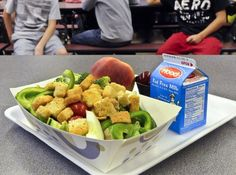 Why the healthy school lunch program is in trouble. Before/after photos of what students ate. - The Washington Post
