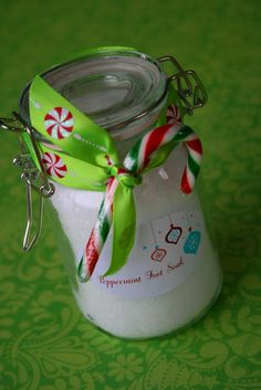 Peppermint Foot Soak (diy gift)