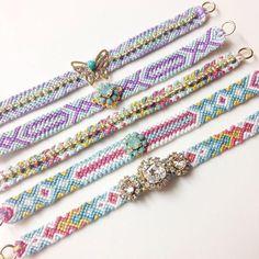 王様のブランチで紹介!「ビジューミサンガ」が100均の刺繍糸で作れる♪ | CRASIA(クラシア)