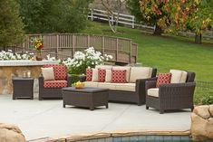 """Love wicker furniture? Then you'll love this 84"""" Tisdale Sofa at Miskellys!"""