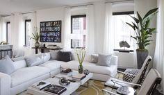 Nicole Fuller Interiors | 250 West Street | Living Room