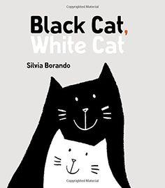 Black Cat, White Cat: A Minibombo Book by Silvia Borando http://www.amazon.com/dp/0763681067/ref=cm_sw_r_pi_dp_7IG5vb0GT83FD