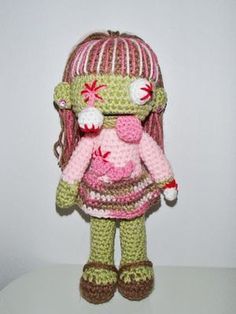 Zombie Glenda by chiwaluv on Etsy, $6.00!  I want this!