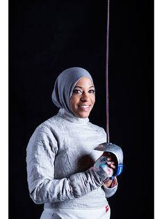 Ibtihaj Muhammad Loses After Securing First Round Win in Fencing Competition| Summer Olympics 2016