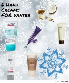Beautysets - 6 Hand Creams for Winbter
