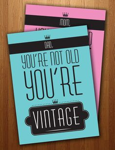 Dad's Funny Vintage #Birthday #Card Printable by PrintsofBeauty, $3.00 via @Etsy