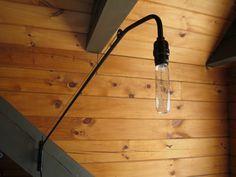 DIY: minimalist swing arm lamp