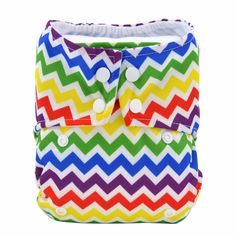Rainbow Cheer All-in-One Cloth Diaper , 20% discount @ PatPat Mom Baby Shopping App