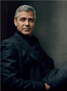 George by Annie Leibovitz..... sooo handsome