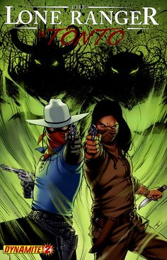 The Lone Ranger & Tonto #2 - cover by John Cassaday