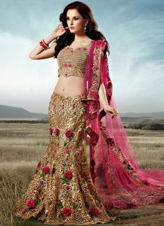 Latest Collection of Designer Bridal Lehengas 2015