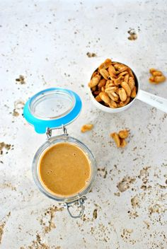 Simply Scratch » Honey Roasted Peanut Butter