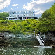 Grey Havens Inn, Georgetown, Maine~ Once did a photo shoot here and wrote promo for a friend who was listing it. Beautiful spot.