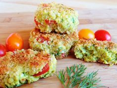 Wholly Vegan: Tempeh, Avocado, Tomato, and Dill Croquettes
