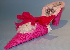 Paper shoes by Corrine Griffith