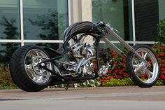 """The Coveted"" Custom Chopper"