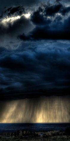 Storm clouds, so inspiring!