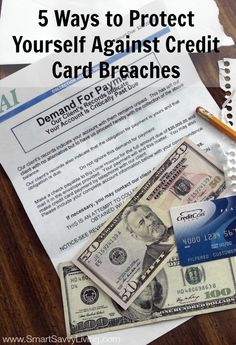 5 Ways to Protect Yourself Against Credit Card Breaches #ad #breachwatch