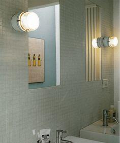 Fresnel wall light