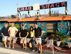 The Crab Shack Just Across The Gandy Bridge From Tampa