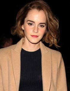 Emma Watson's choppy bob