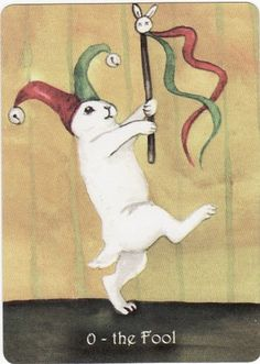 The Rabbit Tarot by Nakisha VanderHoeven - The Fool