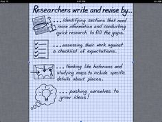 Revising Research chart