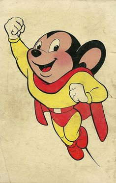 Mighty Mouse will save the day! Mighty Mouse will save the day! Looney Tunes Characters, Classic Cartoon Characters, Looney Tunes Cartoons, Favorite Cartoon Character, Classic Cartoons, Disney Cartoons, Classic Comics, Cartoon Kunst, Cartoon Tv