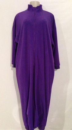 Footless Pajamas Robe XS QVC Nursing Home Blanket Snuggie Front Zip 35 Degrees #Robes