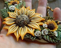 Autumn Bib Necklace