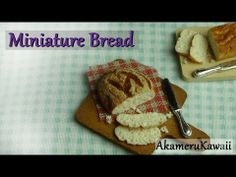 ▶ Miniature Bread - Polymer clay Dollhouse Miniature - YouTube