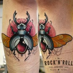 beetle tattoos by daryl watson